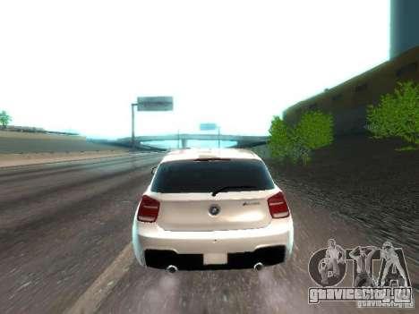 BMW M135i для GTA San Andreas вид сзади слева