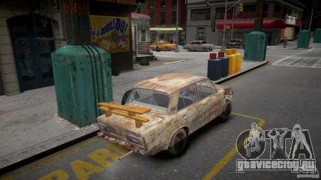 ВАЗ 2106 ржавая для GTA 4