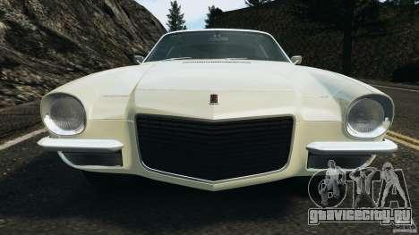 Chevrolet Camaro 1970 v1.0 для GTA 4 колёса