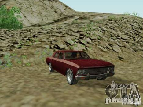 Chevrolet Chevelle для GTA San Andreas вид сзади слева