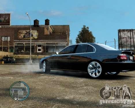 BMW 530I E39 [Final] для GTA 4 вид справа