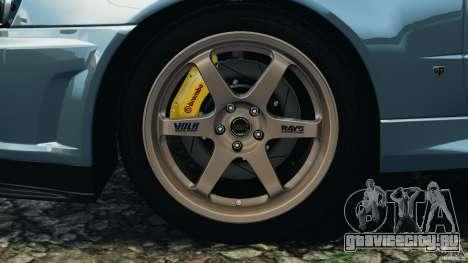Nissan Skyline GT-R R34 2002 v1.0 для GTA 4 салон