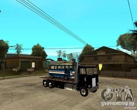 Peterbilt для GTA San Andreas вид справа