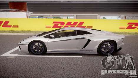 Lamborghini Aventador LP700-4 2011 [EPM] для GTA 4 вид слева