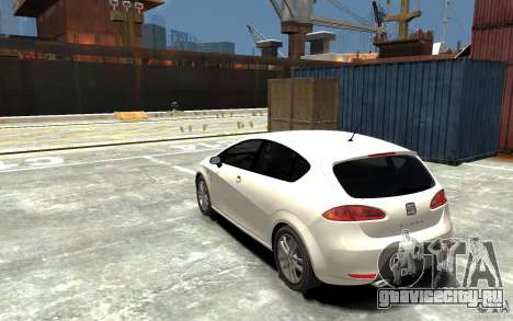 Seat Leon Cupra v.2 для GTA 4 вид сзади слева