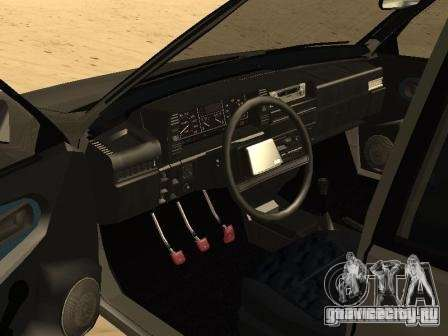 ВАЗ 21099 Летняя для GTA San Andreas вид сзади слева