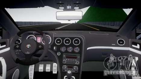 Alfa Romeo Brera Italia Independent 2009 для GTA 4 вид справа