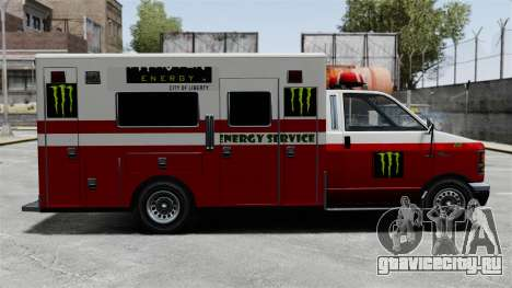 Скорая помощь Monster Energy для GTA 4