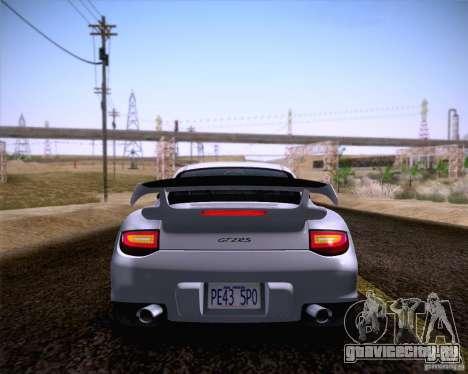 Porsche 911 GT2 RS 2012 для GTA San Andreas вид сзади слева
