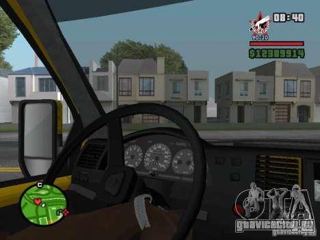 Активная приборная панель для GTA San Andreas второй скриншот