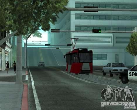 ЛМ-2008 для GTA San Andreas вид сзади