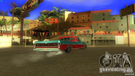 Ford F1000 Bicho для GTA San Andreas вид слева