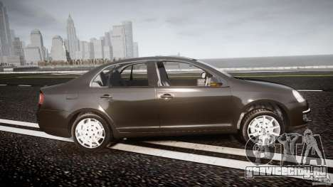 Volkswagen Jetta 2008 для GTA 4 вид изнутри