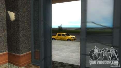 Toyota Hilux SRV 4x4 для GTA Vice City вид изнутри
