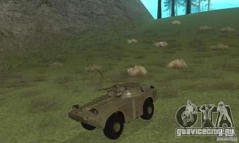 БРДМ-1 Скин 2 для GTA San Andreas вид слева