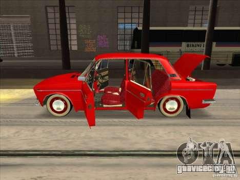 ВАЗ 2103 Resto style для GTA San Andreas вид изнутри