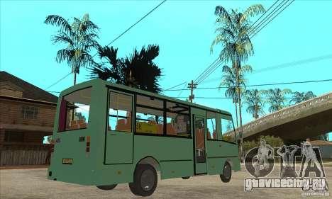 ПАЗ 3203 для GTA San Andreas вид справа
