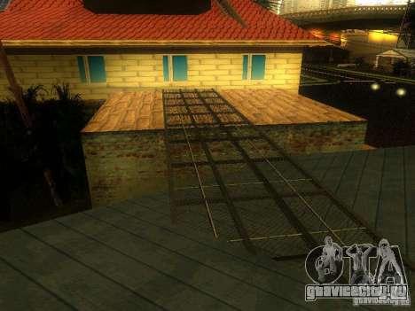 База Гроув стрит для GTA San Andreas пятый скриншот