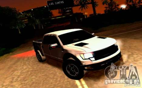 Ford Raptor Crewcab 2012 для GTA San Andreas