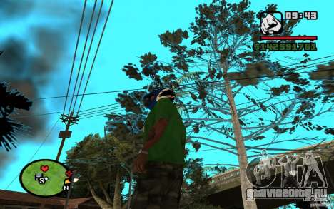 New Grove-Street для GTA San Andreas четвёртый скриншот