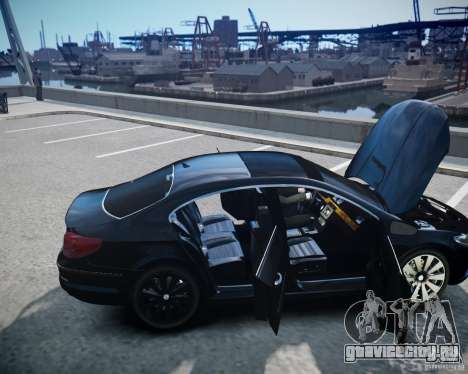 Volkswagen Passat CC для GTA 4 вид сверху