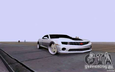 Chevrolet Camaro Super Sport 2012 для GTA San Andreas