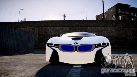 BMW Vision Efficient Dynamics 2012 для GTA 4 вид сзади