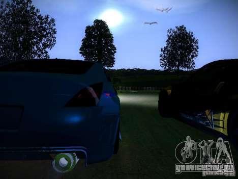Nissan 350Z Falken Tire для GTA San Andreas вид сбоку