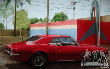 Pontiac Firebird 400 (2337) 1968 для GTA San Andreas двигатель