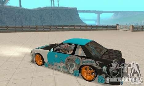 Nissan Silvia S13 NonGrata для GTA San Andreas вид справа
