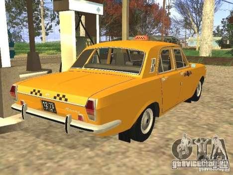 ГАЗ 24-01 Такси для GTA San Andreas вид слева
