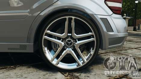 Mercedes-Benz ML63 AMG Brabus для GTA 4 вид снизу