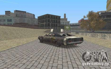 Malice from FlatOut2 для GTA San Andreas вид сзади