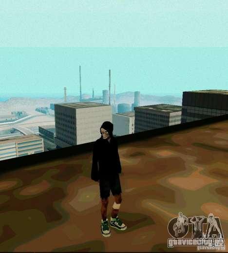 New Skin для GTA San Andreas