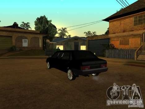 ВАЗ 21099 Лимузин для GTA San Andreas вид сзади
