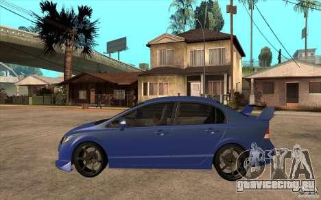 Honda Civic Mugen v1 для GTA San Andreas вид слева