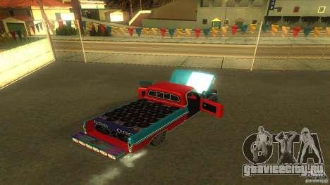Ford F1000 Bicho для GTA San Andreas вид сзади