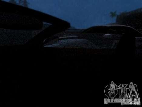 Aston Martin DB9 Volante 2006 для GTA San Andreas вид сбоку