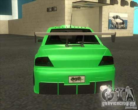 Mitsubishi Lancer Evo 9 Drift style для GTA San Andreas вид слева