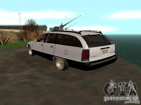 Chevrolet Caprice Wagon 1992 для GTA San Andreas вид слева