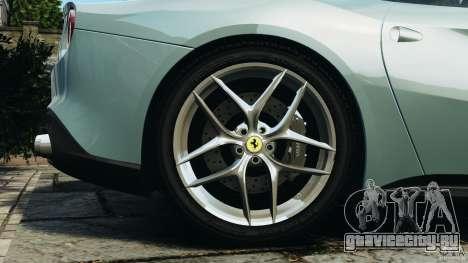 Ferrari F12 Berlinetta 2013 [EPM] для GTA 4 вид сверху