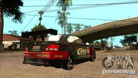 BMW 135i Coupe GP Edition Skin 2 для GTA San Andreas вид справа
