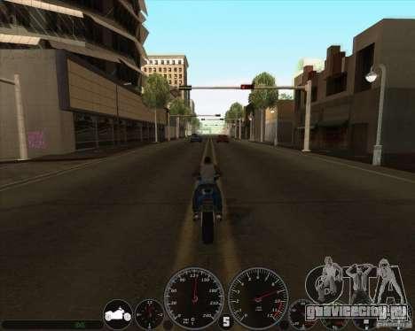memphis Спидометр v2.0 для GTA San Andreas второй скриншот