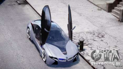 BMW Vision Efficient Dynamics v1.1 для GTA 4 вид сверху