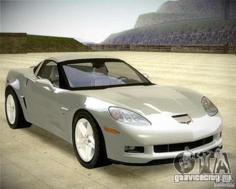 Chevrolet Corvette Z06 для GTA San Andreas вид справа