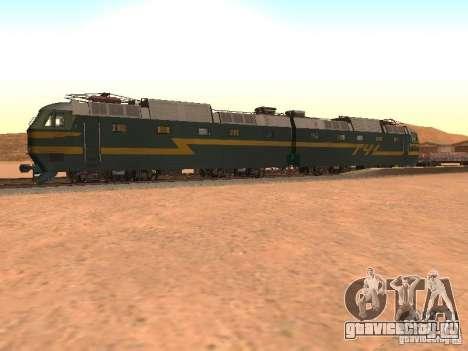 ЧС7 233 для GTA San Andreas вид слева