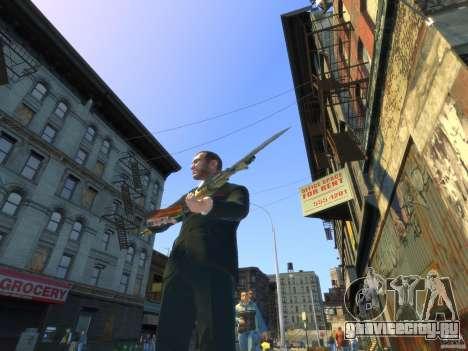 AK-47 для GTA 4 четвёртый скриншот
