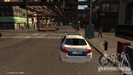 BMW 550i Azeri Police YPX для GTA 4 вид сзади слева