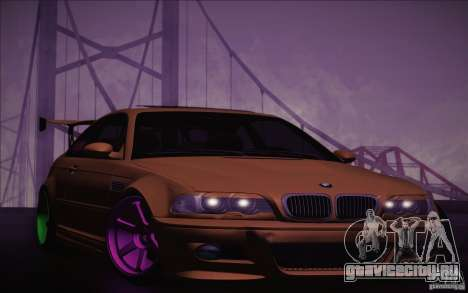 BMW M3 E46 v1.0 для GTA San Andreas