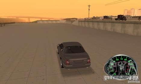 Спидометр v.2.0 для GTA San Andreas второй скриншот